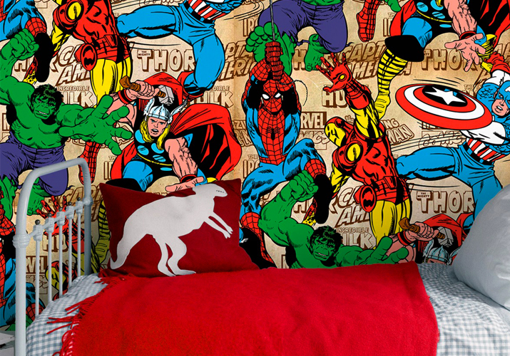 Brico+ | Papel Pintado Marvel